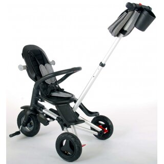 driewieler Nova 4-in-1 Junior Schwarz/Grau